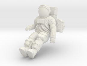 1: 24 Apollo Astronaut a7lb Type / LGV left in White Natural Versatile Plastic