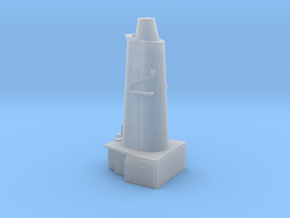 HMAS Vampire 1/350 Forward Funnel Block in Smoothest Fine Detail Plastic