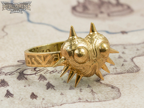 Ring - Majora's Mask (Size 13) in Polished Bronze