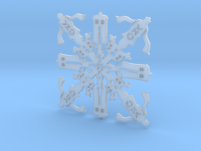 Doctor Who: Fourth Doctor Snowflake in Smooth Fine Detail Plastic