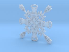 Batman Harley/Joker Snowflake in Smooth Fine Detail Plastic