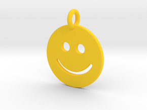 Smilie ) in Yellow Processed Versatile Plastic
