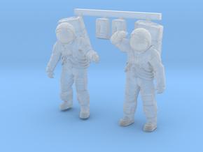 1: 48 Apollo Astronaut a7lb Type / Set l in Smoothest Fine Detail Plastic