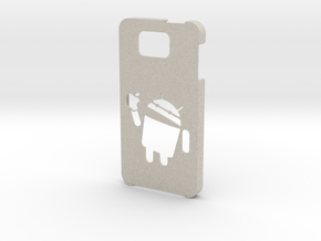 Samsung Galaxy Alpha android eat apple in Natural Sandstone