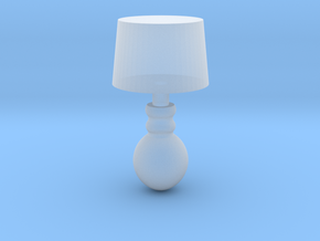 Miniature 1:48 Table Lamp in Frosted Ultra Detail