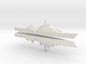 VNN Gepard Class x 2 , 1/1800 in White Strong & Flexible