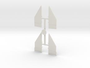 02-Ailerons in White Natural Versatile Plastic