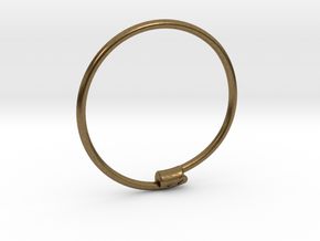 Yaedeura Bangle S 62mm in Natural Bronze
