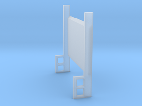 Lift Gate Up Position 1-87 HO Scale in Smooth Fine Detail Plastic