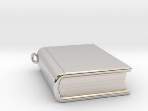 Book Nibbler - Custom in Rhodium Plated Brass