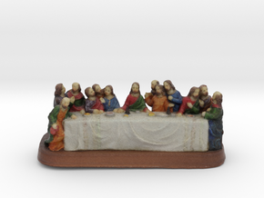 Lastsupper in Full Color Sandstone