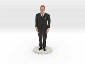 Redhead Groom (v.1) in Full Color Sandstone