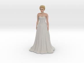 Blond Bride (v.1) in Full Color Sandstone