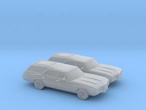 1/160 2X 1968-72 Oldsmobile Vista Cruiser in Smooth Fine Detail Plastic