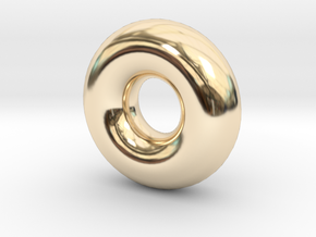 Cute candy RING in 14K Yellow Gold
