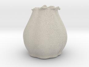 Flower Vase in Natural Sandstone