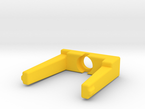 CL Serial Module Cover in Yellow Processed Versatile Plastic
