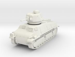 PV86 Somua S35 Cavalry Tank (1/48) in White Natural Versatile Plastic