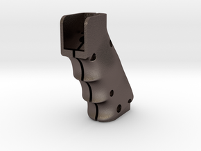 GRIP-PNEUMATIC-DEVICE in Polished Bronzed Silver Steel