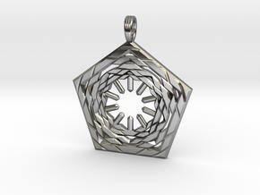 COSMIC PENTAFLOW in Premium Silver