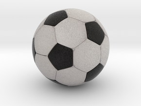 Foosball 3.43cm diameter in Full Color Sandstone