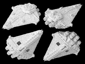 (Armada) Vigil-class corvette in White Natural Versatile Plastic