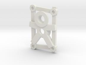 Rune: Entru - Large (Gollum) in White Natural Versatile Plastic