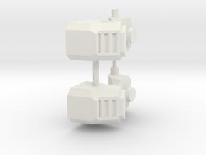 Feet KO TFC Slingshot/Fireflight V3.0 in White Natural Versatile Plastic