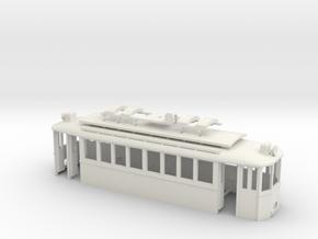 G2 Wiener Strassenbahn Gehäuse Türen offen in White Natural Versatile Plastic