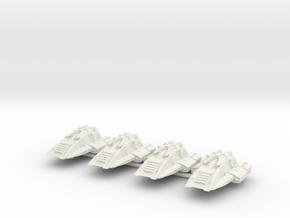 Scampers - Har'Lakk Rift Splitter in White Natural Versatile Plastic