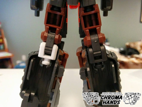 Maketoys Quantron Sonic Drill Knee Replacement in White Strong & Flexible Polished