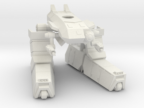 A3 Standing mode Centaur 1/144 in White Strong & Flexible