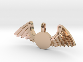Journeyer-Flying - Key chain in 14k Rose Gold Plated Brass