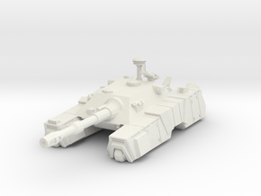 1/144 Centaur Cyclops Tank in White Strong & Flexible