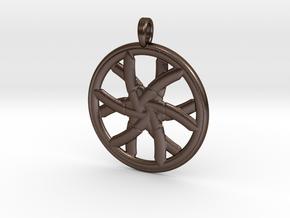 CRYSTAL MAGIC in Polished Bronze Steel