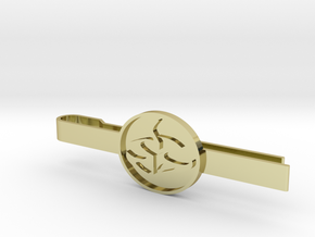 Agent 47 tie clip in 18K Gold Plated