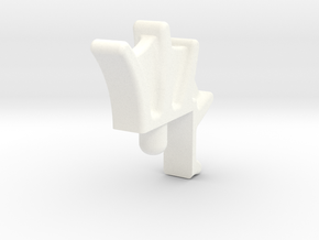 Tiger Fin2 in White Processed Versatile Plastic
