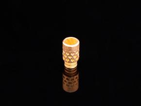 Vanishing Hearts Driptip in 14k Gold Plated Brass