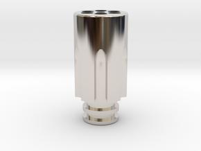 Revolver Chamber Driptip in Platinum