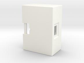 CoLinkEX Case B in White Processed Versatile Plastic