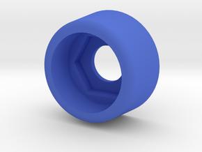 Kniter CO 607 S Cover Black Plastic in Blue Processed Versatile Plastic