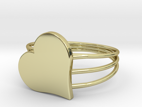 Size 10 Heart For ALL in 18k Gold