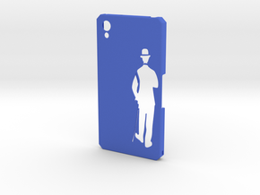 Sony Xperia Z2 Charlie Chaplin in Blue Processed Versatile Plastic