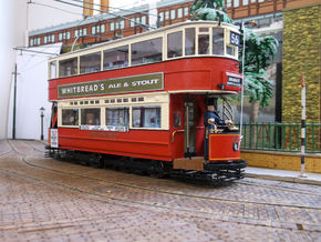 1:43 L.T. E/1 500 Class Tram -open front - Part 1 in White Natural Versatile Plastic