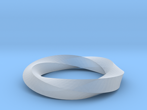 RingSwirl360 in Smoothest Fine Detail Plastic