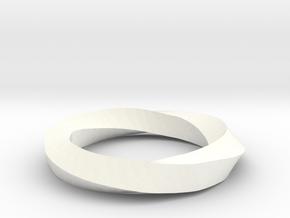 RingSwirl270 in White Processed Versatile Plastic