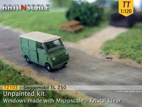 Goggomobil Transporter (TT 1:120) in Frosted Ultra Detail