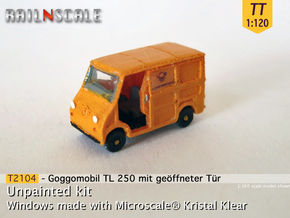 Goggomobil TL w/ opened door (TT 1:120) in Smooth Fine Detail Plastic