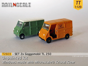 SET 2x Goggomobil Transporter (TT 1:120) in Smooth Fine Detail Plastic