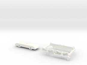 902-006 ZE H1-2 Draaistellen schaal 1:45 in White Processed Versatile Plastic